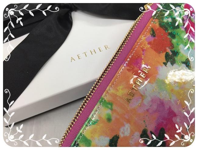 AETHERエーテルの葉ながら長財布