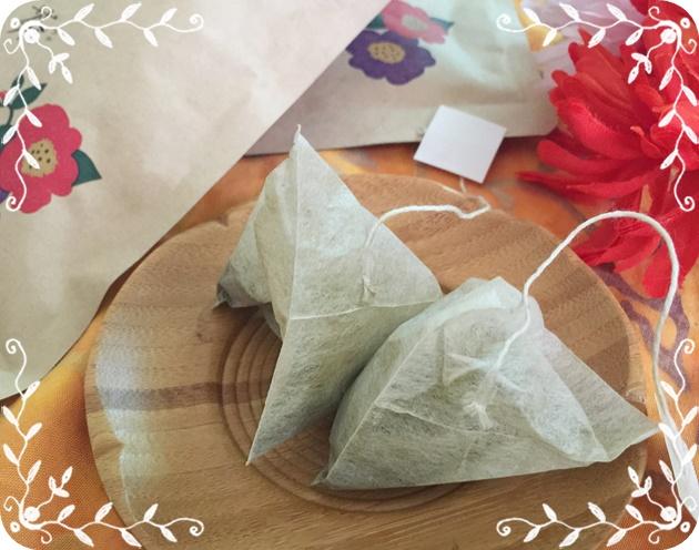 ティーパック式で飲みやすい美甘麗茶