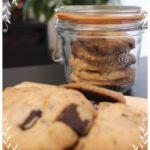 カカオニブで作る砂糖不使用クッキー
