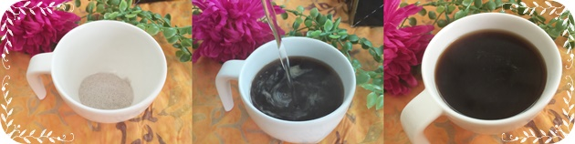 ファスティングのために開発された黒濃酵素紅茶