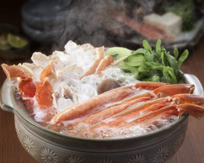 ズワイガニ鍋