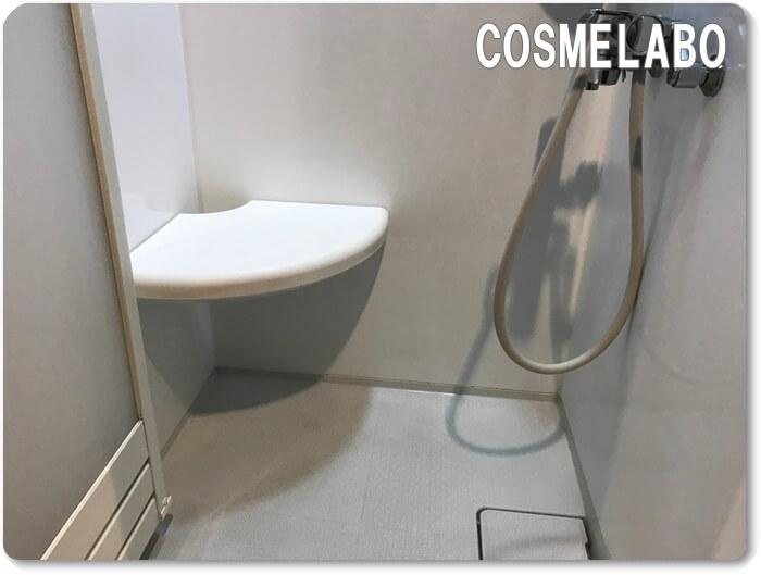 シャワールームに椅子