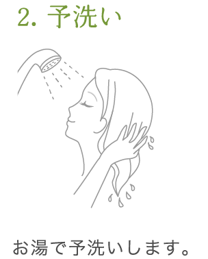 uruotte シャンプー 使い方2