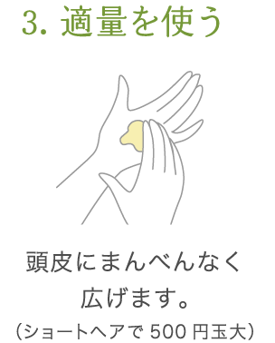 uruotte シャンプー 使い方3