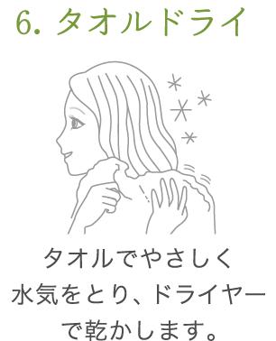uruotte シャンプー 使い方6