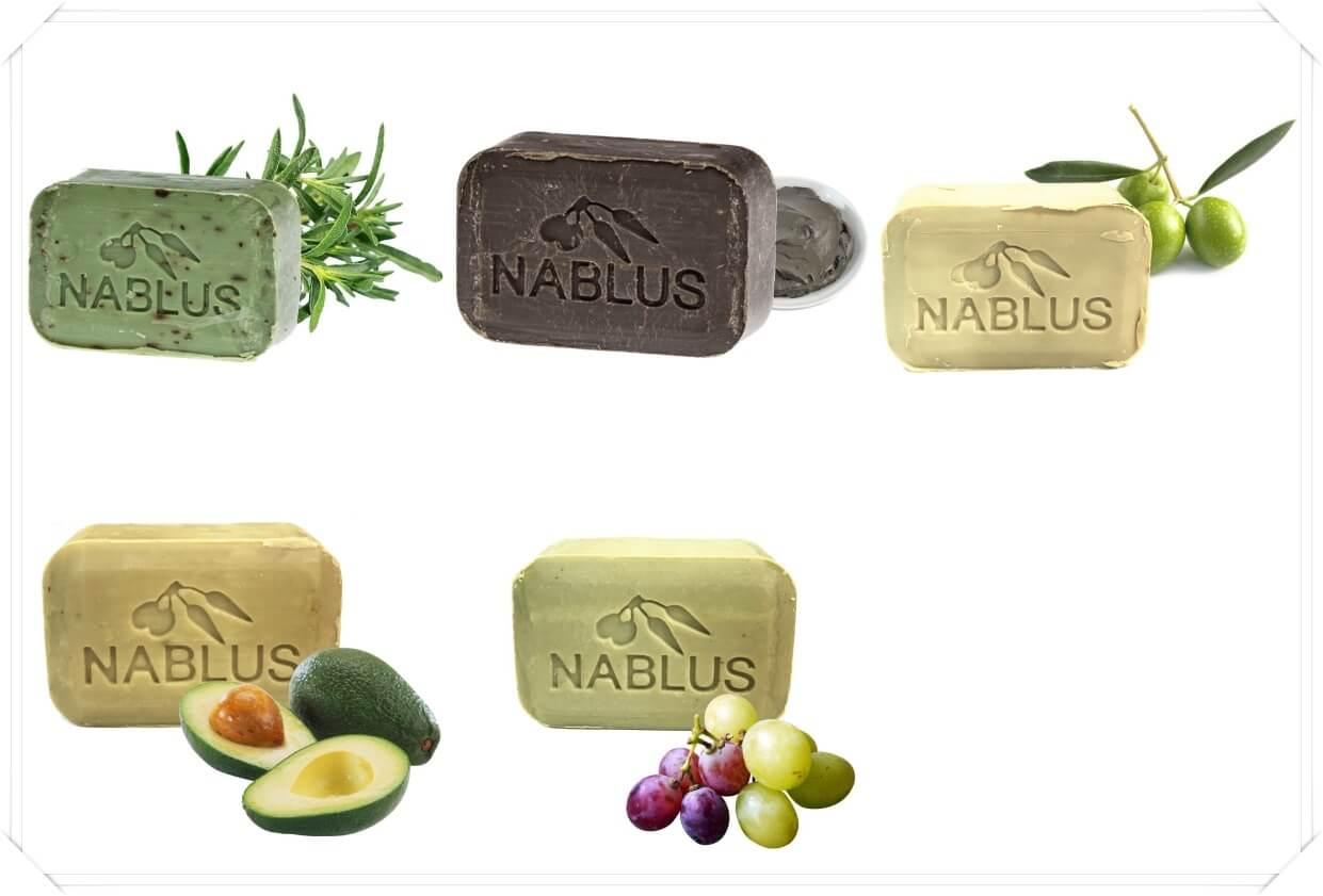 ナーブルスソープ種類
